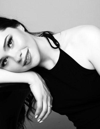 Katy modella e attice